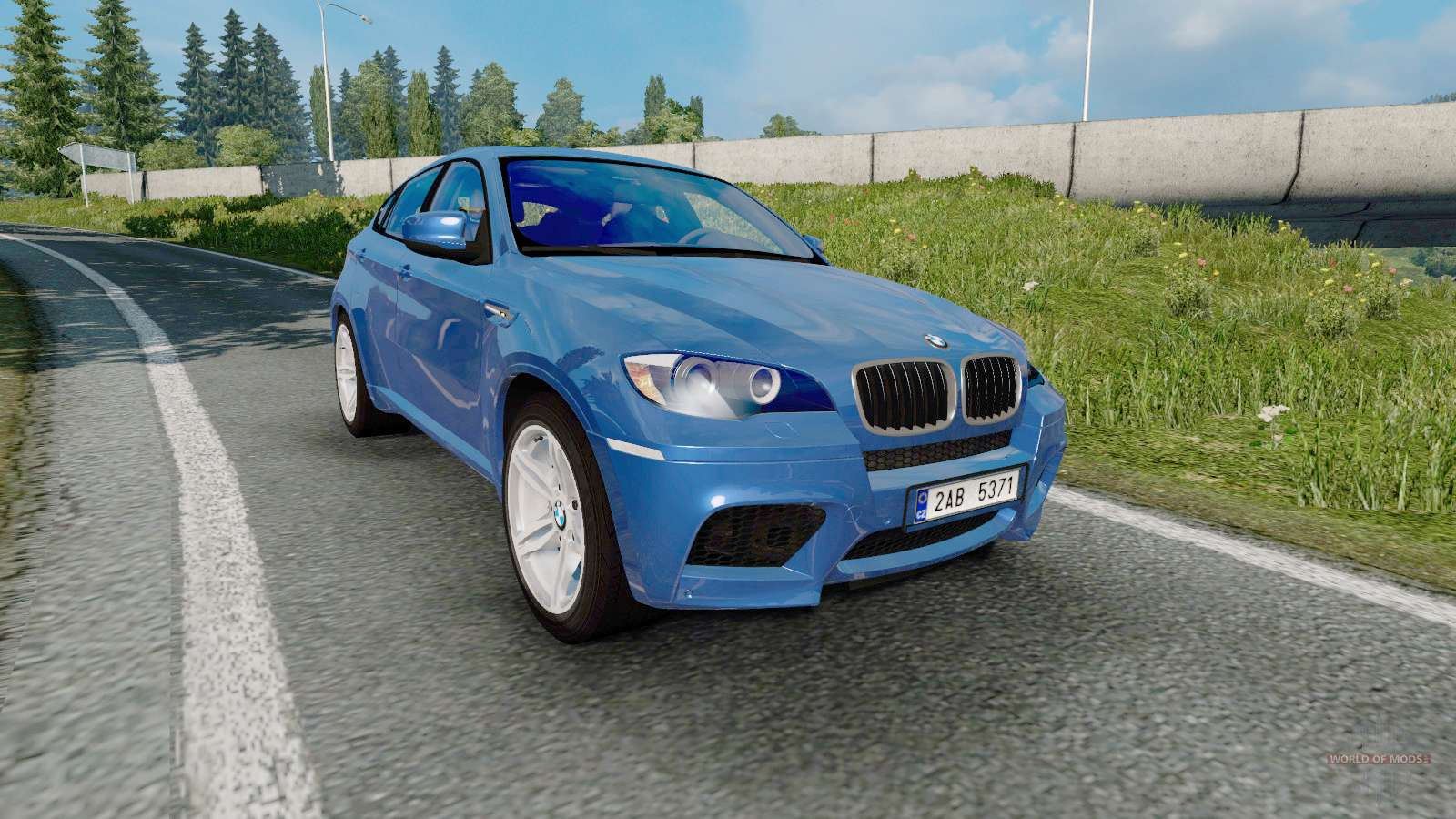 Bmw X6 M Е71 2009 For Euro Truck Simulator 2
