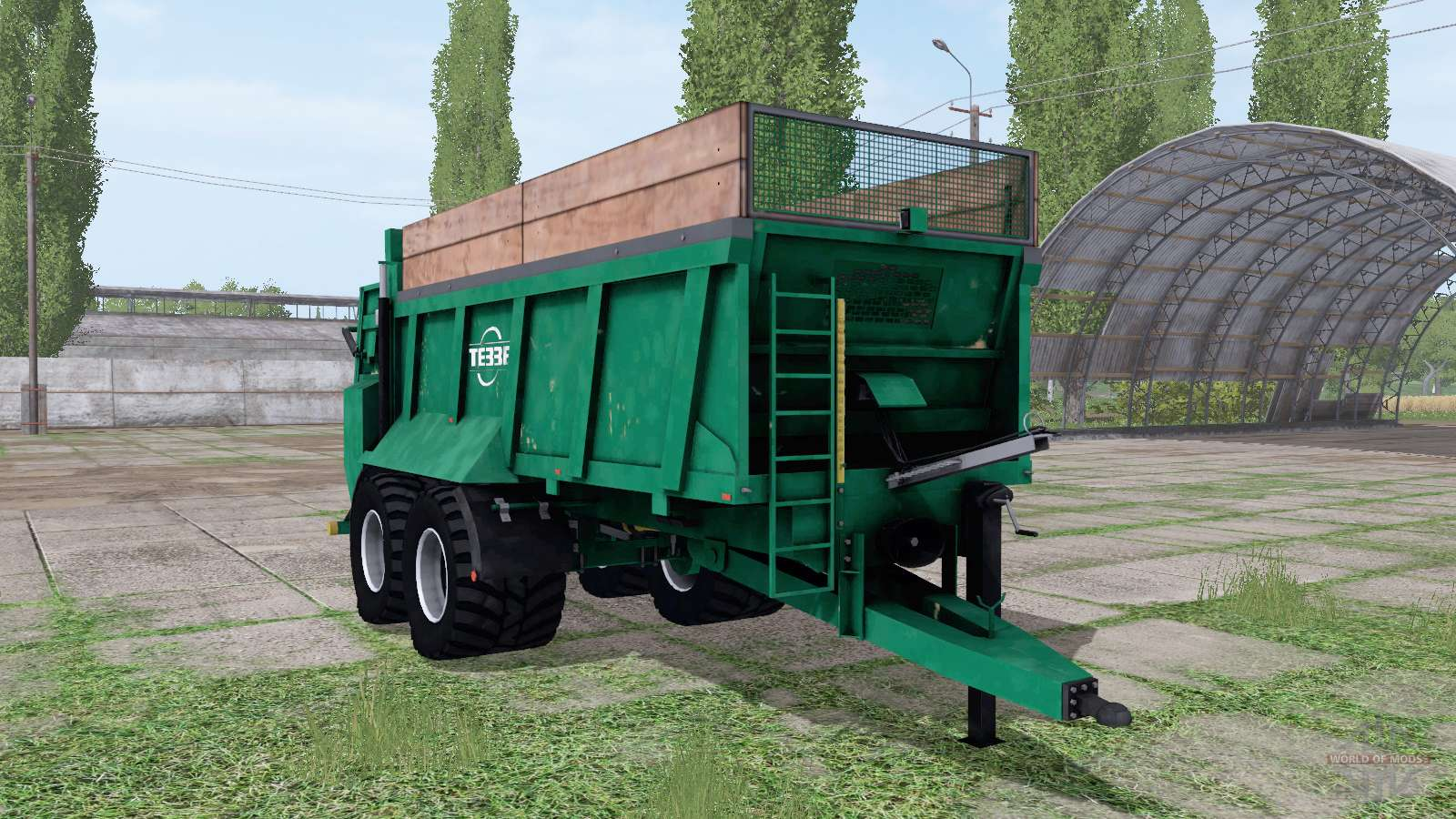 Tebbe HS 180 for Farming Simulator 2017