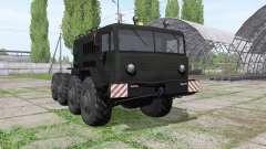 MAZ 537 1965 for Farming Simulator 2017