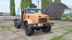 KrAZ 64431 for Farming Simulator 2017
