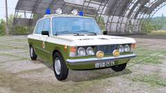 Fiat 125p 1982 Volkspolizei for Farming Simulator 2017