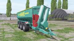 Hawe ULW 5000 T for Farming Simulator 2017