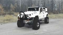 Jeep Wrangler Unlimited Rubicon (JK) crawler for MudRunner