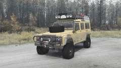 Land Rover Defender 110 Station Wagon for MudRunner