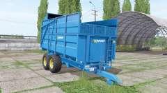 West 10t for Farming Simulator 2017