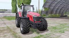 Massey Ferguson 8740 S for Farming Simulator 2017