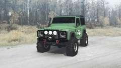 Land Rover Defender 90 for MudRunner