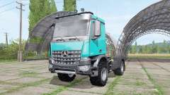Mercedes-Benz Arocs 2043 2013 v1.1 for Farming Simulator 2017