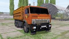 KamAZ 55102 Blagoveshchensk for Farming Simulator 2017