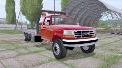 Ford F-350 1996 rollback for Farming Simulator 2017