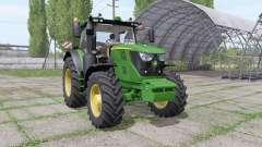 John Deere 6145R v1.1 for Farming Simulator 2017