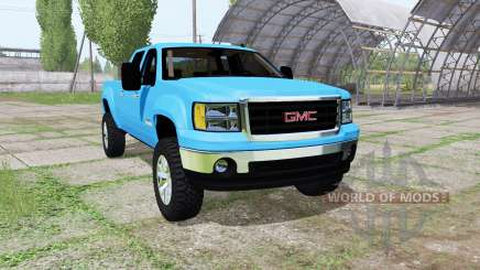 GMC Sierra 2500 HD Crew Cab 2010 v1.1 for Farming Simulator 2017