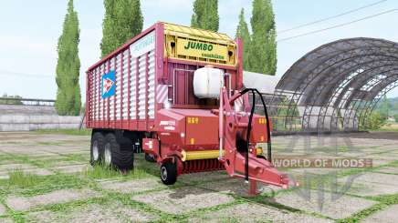 POTTINGER JUMBO 7210 Hansano for Farming Simulator 2017