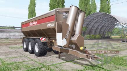 BERGMANN GTW 430 v1.0.0.2 for Farming Simulator 2017