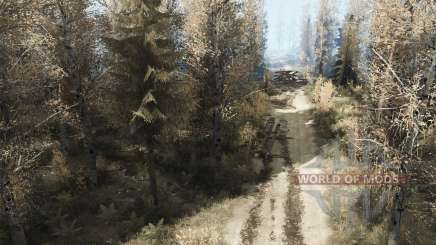 Raked paths for MudRunner