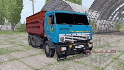 KamAZ 55102 for Farming Simulator 2017