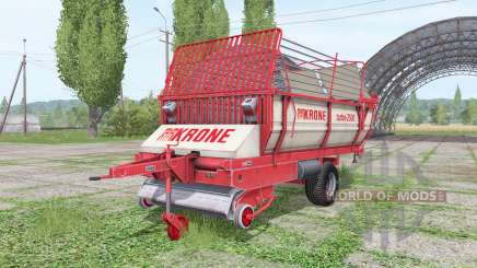 Krone Turbo 2500 for Farming Simulator 2017