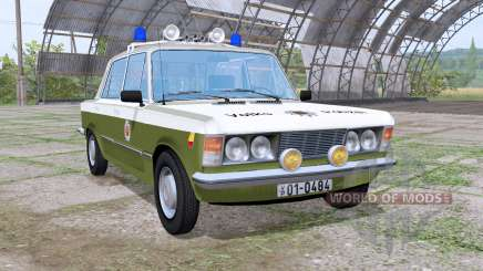 Fiat 125p 1982 Volkspolizei for Farming Simulator 2017
