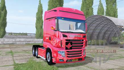 Scania R700 Evo tielbeke for Farming Simulator 2017
