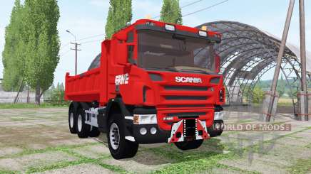 Scania P420 tipper 2010 for Farming Simulator 2017