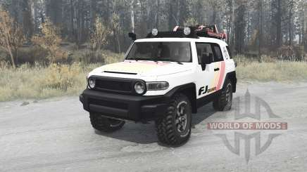 Toyota FJ Cruiser (GSJ15W) 2010 for MudRunner