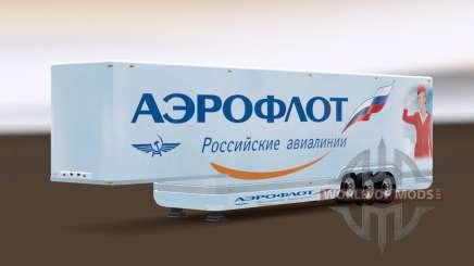 AeroDynamic Airlines Trailer for Euro Truck Simulator 2