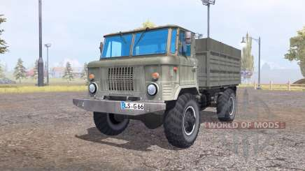 GAZ 66 for Farming Simulator 2013