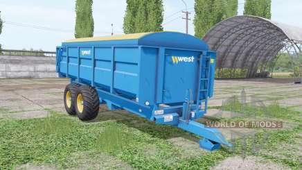 West 12t for Farming Simulator 2017