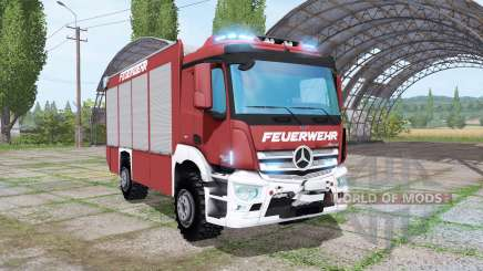 Mercedes-Benz Antos Feuerwehr for Farming Simulator 2017