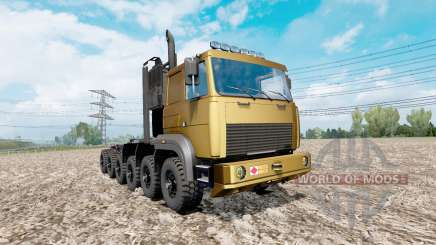 MAZ prototype 12x12 for Euro Truck Simulator 2