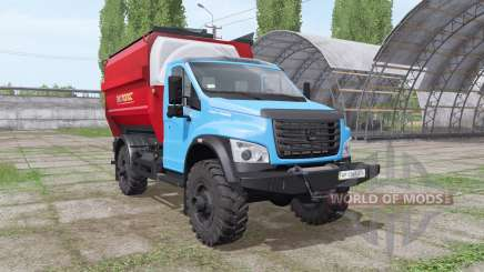 GAS Lawn Next (C41R13) 2014 fodder mixer for Farming Simulator 2017