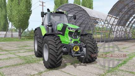 Deutz-Fahr Agrotron 7250 TTV warrior green for Farming Simulator 2017