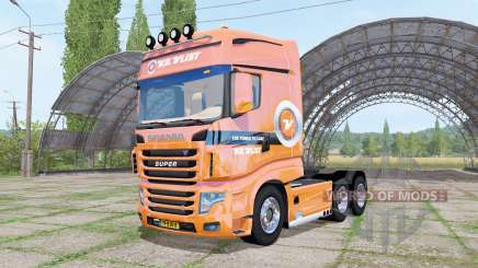 Scania R700 Evo V.D.Vlist for Farming Simulator 2017