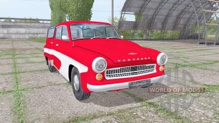 Wartburg 311-5 camping 1956 for Farming Simulator 2017