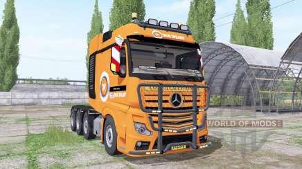 Mercedes-Benz Actros SLT (MP4) 2013 V.D.Vlist for Farming Simulator 2017