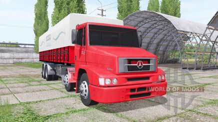 Mercedes-Benz L 1620 Eletronic Bi-Truck for Farming Simulator 2017