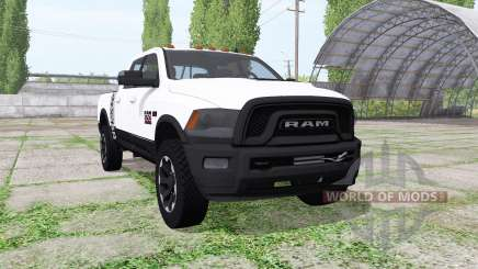 Dodge Ram 2500 Power Wagon Crew Cab for Farming Simulator 2017