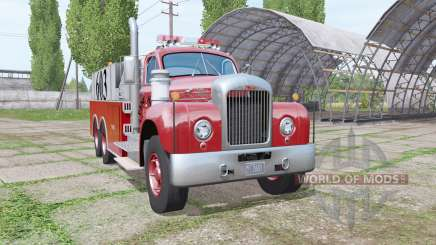 Mack B61 Fire Rescue for Farming Simulator 2017