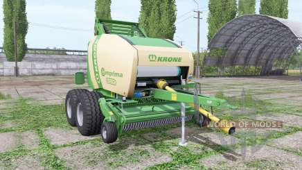 Krone Comprima F155 XC for Farming Simulator 2017