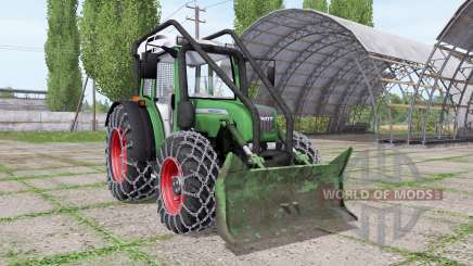 Fendt 209 S forest edition for Farming Simulator 2017