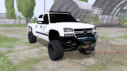 Chevrolet Silverado 2500 HD Crew Cab 2006 for Farming Simulator 2017