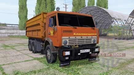 KamAZ 55102 Blagoveshchensk for Farming Simulator 2017