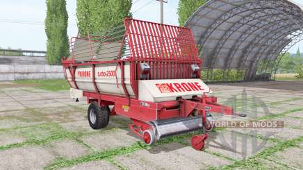 Krone Turbo 2500 v1.4 for Farming Simulator 2017