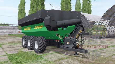 Balzer 2000 Tridem for Farming Simulator 2017