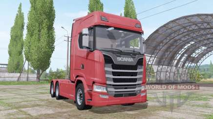 Scania S 730 V8 2016 for Farming Simulator 2017