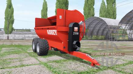 Abbey 2550 for Farming Simulator 2017