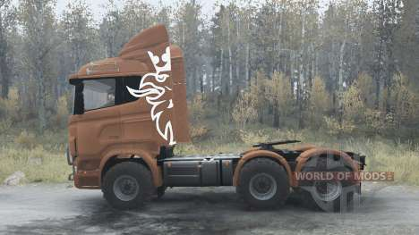 Scania R730 for Spintires MudRunner