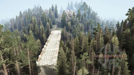 Whispering forest for Spintires MudRunner