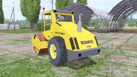 BOMAG BW 214 DH-3 for Farming Simulator 2017