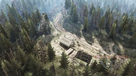 The Village Of Lake for Spintires MudRunner